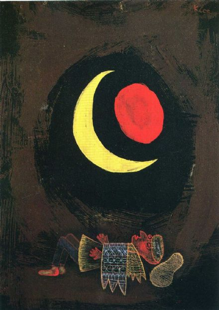 Klee, Paul: Strong Dream (1929). Fine Art Print/Poster (1458)